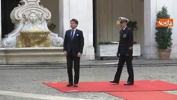 3 - Libia, Conte riceve Fayez al Serraj a Palazzo Chigi