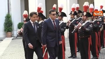 8 - Libia, Conte riceve Fayez al Serraj a Palazzo Chigi