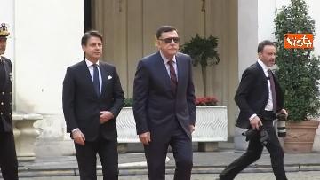 6 - Libia, Conte riceve Fayez al Serraj a Palazzo Chigi