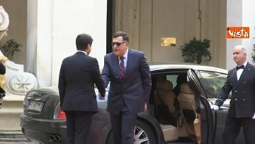 5 - Libia, Conte riceve Fayez al Serraj a Palazzo Chigi