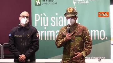 """1 - Figliuolo in Lombardia: """"Ho visto una sinergia tra le forze migliori del Paese"""""""