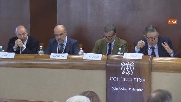 """10 - Boccia interviene alla conferenza su """"Politica e Economia"""" a Confindustria, le immagini"""
