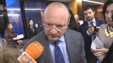 """2 - Boccia interviene alla conferenza su """"Politica e Economia"""" a Confindustria, le immagini"""