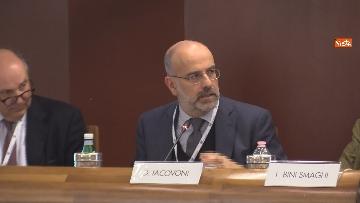 """5 - Boccia interviene alla conferenza su """"Politica e Economia"""" a Confindustria, le immagini"""