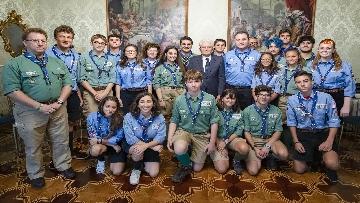 5 - Il Presidente Mattarella Incontra la Federazione Italiana dello Scautismo