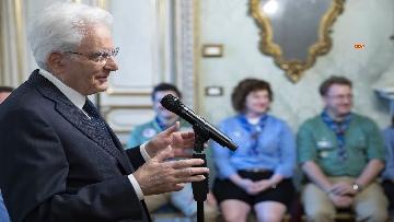 3 - Il Presidente Mattarella Incontra la Federazione Italiana dello Scautismo