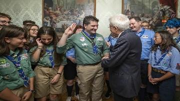6 - Il Presidente Mattarella Incontra la Federazione Italiana dello Scautismo