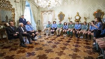 2 - Il Presidente Mattarella Incontra la Federazione Italiana dello Scautismo