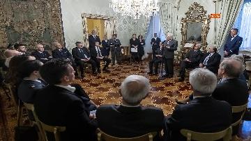 5 - 150 anni Federazione Ginnastica d'Italia, Mattarella incontra delegazione guidata da Malagò e Tecchi