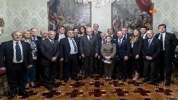 6 - 150 anni Federazione Ginnastica d'Italia, Mattarella incontra delegazione guidata da Malagò e Tecchi