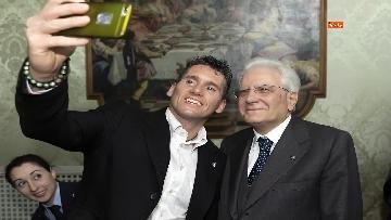 8 - 150 anni Federazione Ginnastica d'Italia, Mattarella incontra delegazione guidata da Malagò e Tecchi