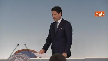3 - Crisi di Governo, Conte in conferenza stampa immagini
