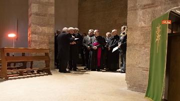 1 - Mattarella a Benevento visita il Museo del Sannio e la Chiesa di Santa Sofia