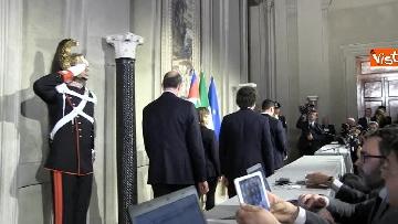 5 - M5S Di Maio, Toninelli e Giulia Grillo dopo l'incontro con Mattarella immagini