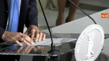 12 - M5S Di Maio, Toninelli e Giulia Grillo dopo l'incontro con Mattarella immagini