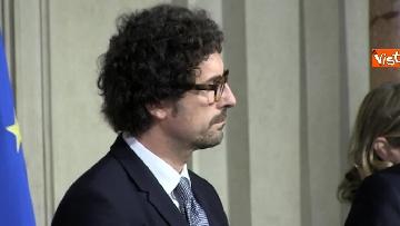 10 - M5S Di Maio, Toninelli e Giulia Grillo dopo l'incontro con Mattarella immagini