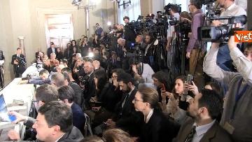 2 - M5S Di Maio, Toninelli e Giulia Grillo dopo l'incontro con Mattarella immagini