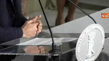 11 - M5S Di Maio, Toninelli e Giulia Grillo dopo l'incontro con Mattarella immagini