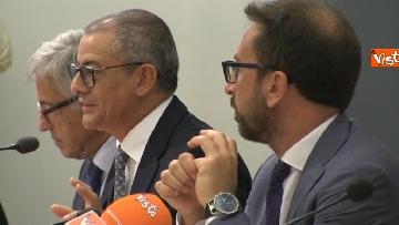 3 - Bonafede e Raggi a presentazione progetto riabilitazione detenuti a Roma