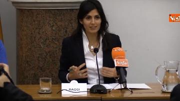 3 - Raggi alla conferenza stampa per lo sblocco dei lavori in via Tiburtina