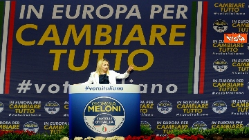 3 - 14-04-19 Europee la Meloni con FdI parte da Torino con la conferenza programmatica