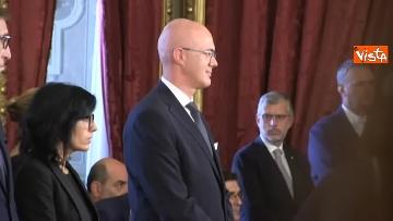 1 - Il giuramento del Ministro per i Rapporti con il Parlamento Federico d'Incà