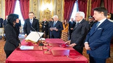 2 - Il giuramento del Ministro per la Pubblica Amministrazione Fabiana Dadone