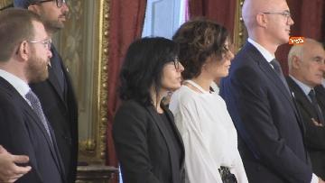 3 - Il giuramento del Ministro per la Pubblica Amministrazione Fabiana Dadone