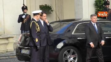 3 - Conte si insedia a Palazzo Chigi, primo giorno da presidente del Consiglio