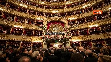 1 - Mattarella alla Prima della Scala di Milano