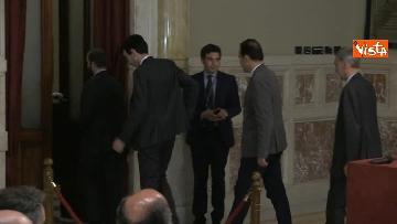 4 - 24-05-18 Consultazioni, la delegazione del Pd con Martina, Orfini, Marcucci, Delrio