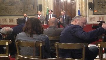 9 - 24-05-18 Consultazioni, la delegazione del Pd con Martina, Orfini, Marcucci, Delrio