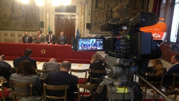 7 - 24-05-18 Consultazioni, la delegazione del Pd con Martina, Orfini, Marcucci, Delrio