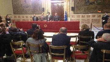 5 - 24-05-18 Consultazioni, la delegazione del Pd con Martina, Orfini, Marcucci, Delrio