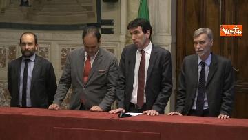 2 - 24-05-18 Consultazioni, la delegazione del Pd con Martina, Orfini, Marcucci, Delrio