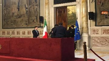 6 - 24-05-18 Consultazioni, la delegazione della Lega con Salvini, Giorgetti, Centinaio