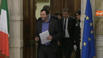 2 - 24-05-18 Consultazioni, la delegazione della Lega con Salvini, Giorgetti, Centinaio