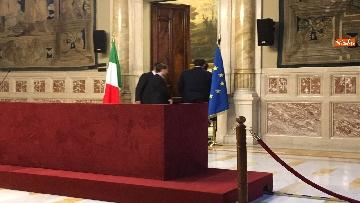 5 - 24-05-18 Consultazioni, la delegazione della Lega con Salvini, Giorgetti, Centinaio