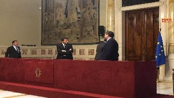9 - 24-05-18 Consultazioni, la delegazione della Lega con Salvini, Giorgetti, Centinaio
