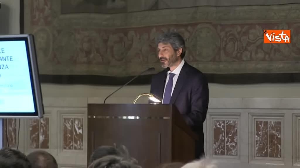 02-07-19 Antitrust il rapporto annuale a Montecitorio immagini_Il presidente della Camera Roberto Fico_03