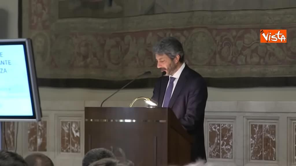 02-07-19 Antitrust il rapporto annuale a Montecitorio immagini_Il presidente della Camera Roberto Fico_02