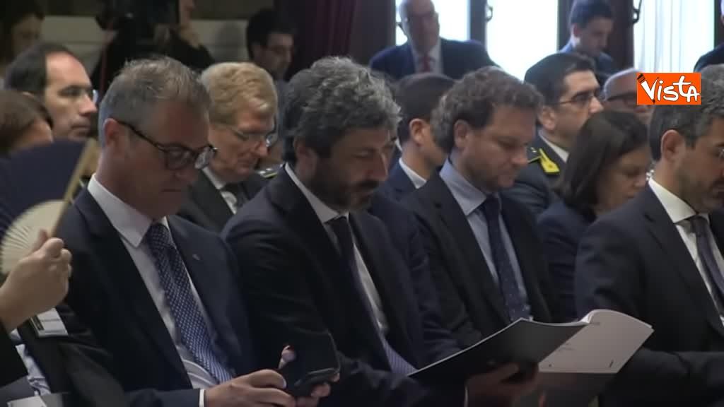 02-07-19 Antitrust il rapporto annuale a Montecitorio immagini_Il presidente della Camera Roberto Fico_05