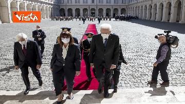6 - Mattarella riceve la Presidente della Repubblica Ellenica Sakellaropoulou, le immagini