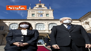 2 - Mattarella riceve la Presidente della Repubblica Ellenica Sakellaropoulou, le immagini
