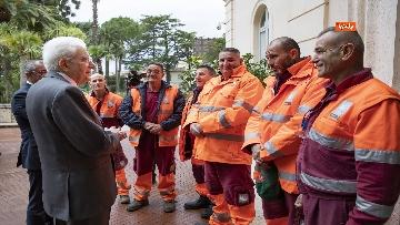 7 - Mattarella incontra alcuni detenuti del progetto di recupero del patrimonio ambientale
