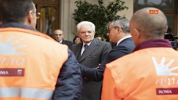 6 - Mattarella incontra alcuni detenuti del progetto di recupero del patrimonio ambientale
