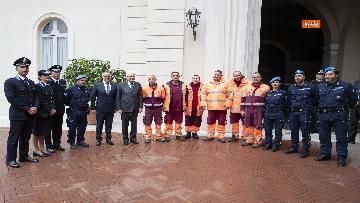 9 - Mattarella incontra alcuni detenuti del progetto di recupero del patrimonio ambientale