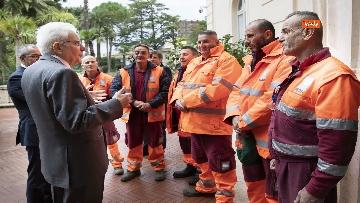 8 - Mattarella incontra alcuni detenuti del progetto di recupero del patrimonio ambientale