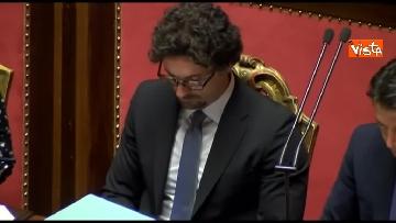 8 - Conte, question time in aula Senato immagini