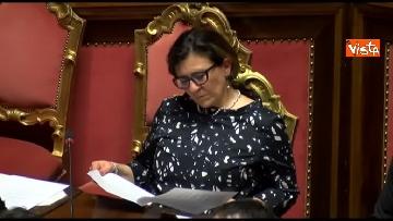 9 - Conte, question time in aula Senato immagini